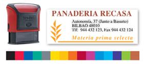 Sellos Caucho Printy 4913 Multicolor - Sello Printy 4913 Multicolor - Superficie de impresión: 58 x 22 mm, máximo 5 líneas. Impresión a color y elija entre más de 15 colores. Para hacer su pedido envienos por mail el texto a componer, colores y su logotipo, le enviamos un PDF con la muestra para su revisión. PLAZO DE ENTREGA: 3-4 dias.