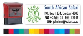 Sellos Caucho Printy 4915 Multicolor - Sello Printy 4915 Multicolor - Superficie de impresión: 70 x 25 mm, máximo 5 líneas. Impresión a color y elija entre más de 15 colores. Para hacer su pedido envienos por mail el texto a componer, colores y su logotipo, le enviamos un PDF con la muestra para su revisión. PLAZO DE ENTREGA: 3-4 dias.